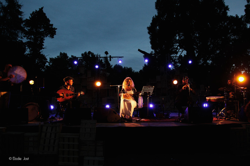 "3 juillet • Eléonore Fourniau ""Quartet"" ©Elodie Jost"