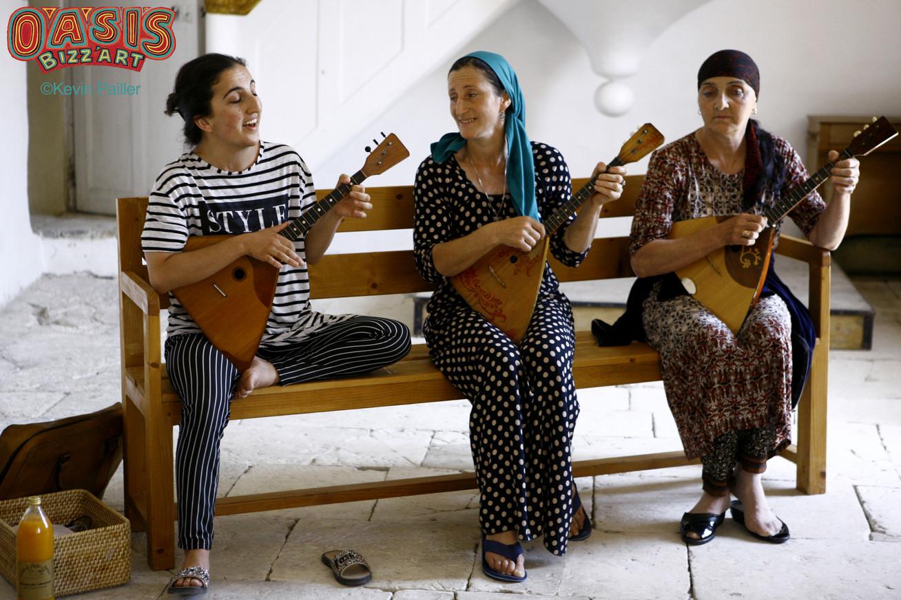 Stage de chant diphonique avec Ensemble Aznash