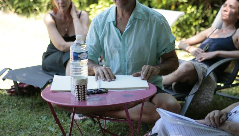 Sieste poétique mené par Jean-Pierre Brouillaud
