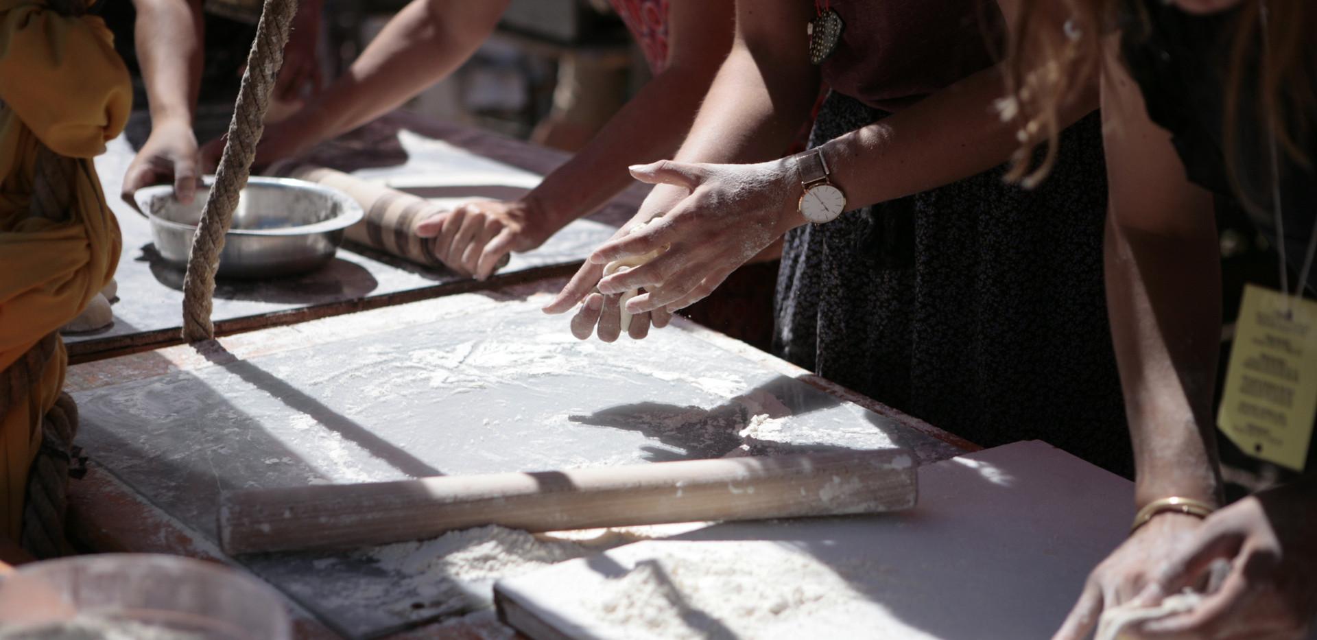 Préparation de la restauration publique