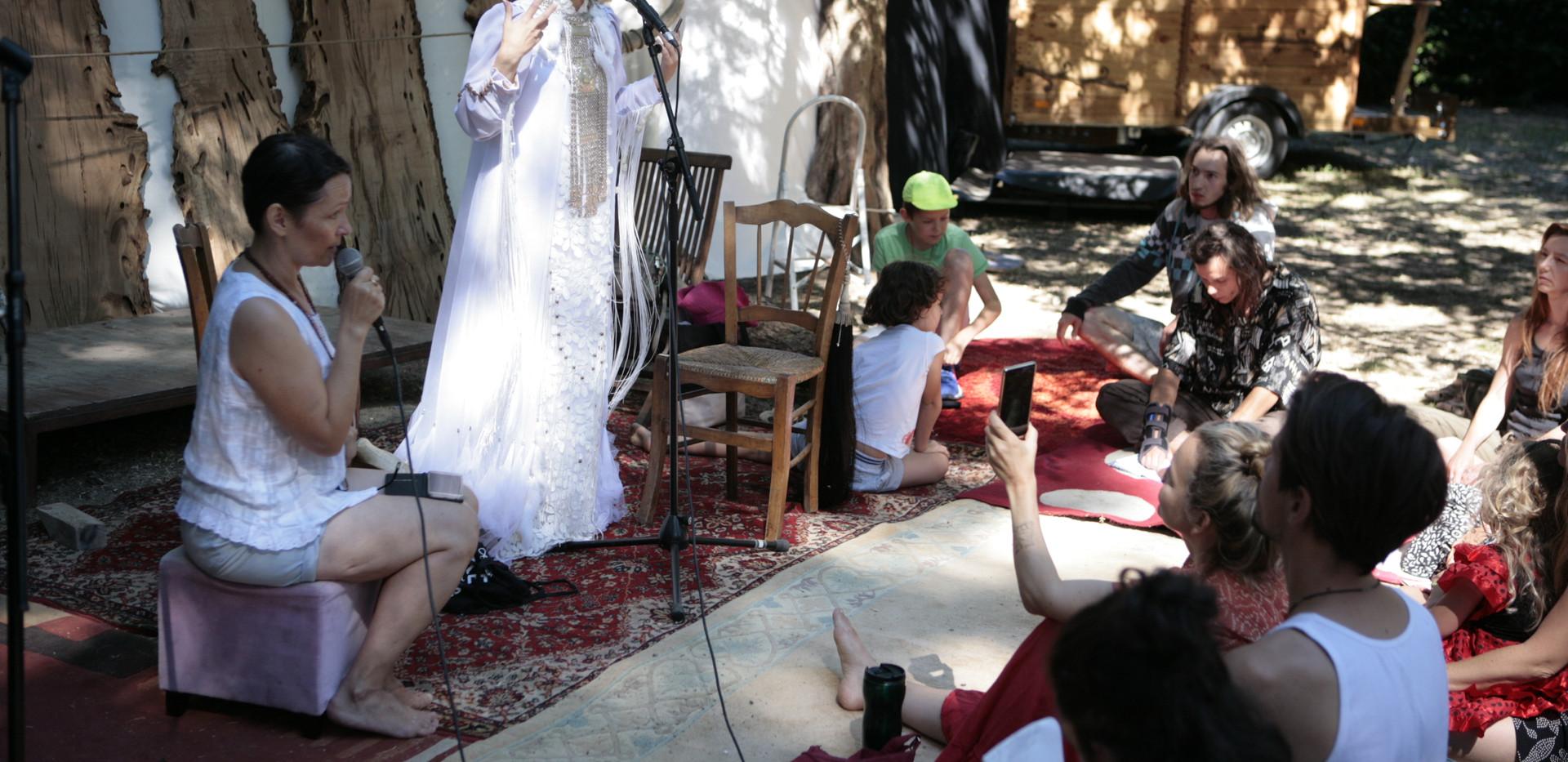 Atelier de chant avec Olena Uutaï