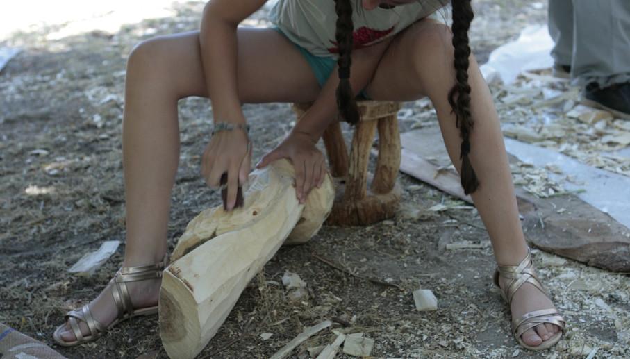 Atelier de sculpture sur bois