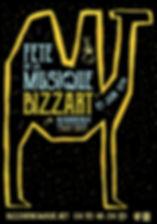 basse def AFFICHE FETE MUSIQUE BIZZ'ART