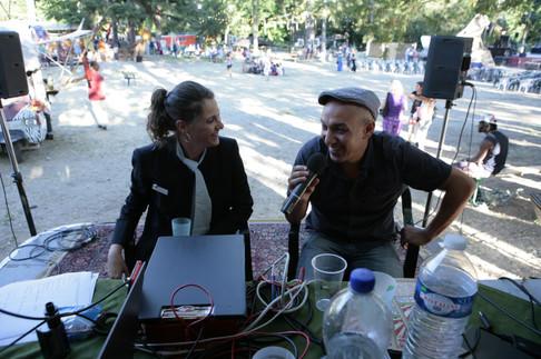 """Meow et Kaddour """"HK"""" à Radio Bizz'Art"""
