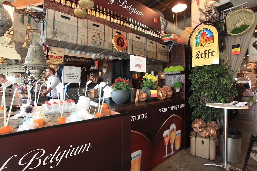 בלגיה כובשת את נמל תל אביב