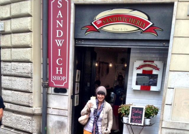 תמיד יש לי מקום לעוד - La Sandwicheria.JPG