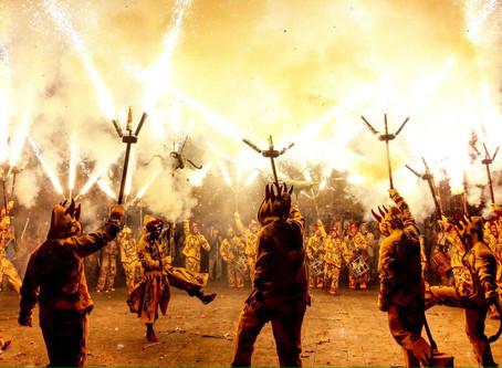 Comiat del 300 aniversari de Diables a Vilanova i la Geltrú