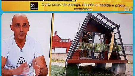 """QUECHOVA en """"A revista"""" TVG"""