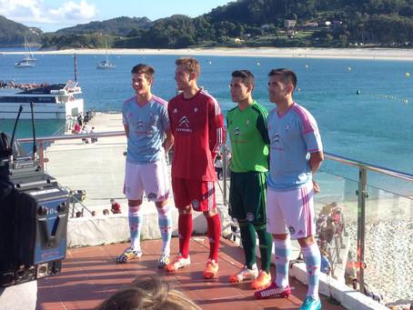 Nueva Camiseta Adidas Real Club Celta de Vigo Temporada 2014/15