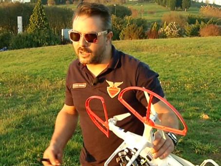 """INFORME EN V (V televisión) entrevista a Garacopter. """"Los drones aplicados al audiovisual"""""""
