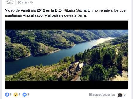 Garacopter vuela para la D.O. Ribeira Sacra. Homenaje.