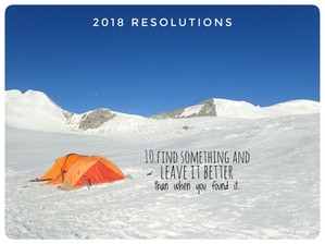 In search of purpose: 2018 resolutions