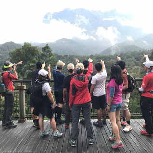 Guides of Kinabalu project team