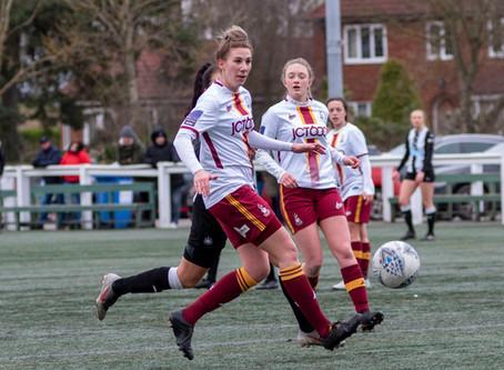 Newcastle Utd Women 2-0 Bradford City Women