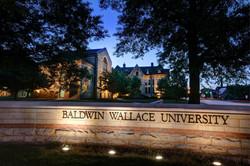 Baldwin Wallace University at Night