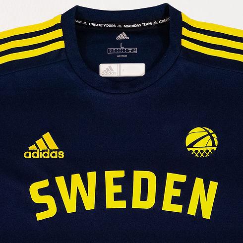 Sweden Basketball National Team Uniform