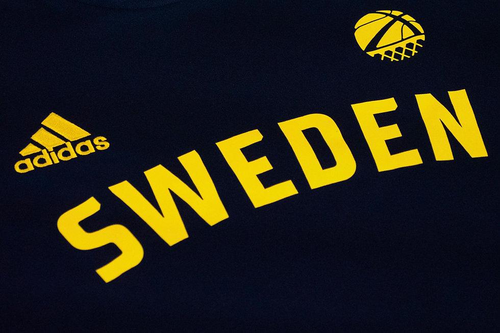 Visla Graphic - Sweden Basketball - Unif
