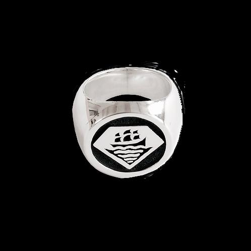 VISLA x Sweda Signet Silver Ring