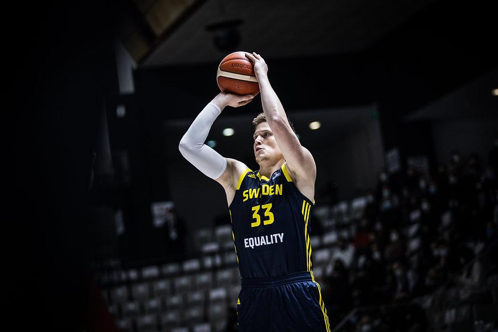 Jerebko - Sweden Basketball