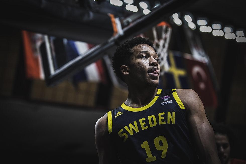 Sweden Basketball Jersey