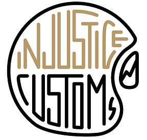 visla graphic - injustice customs - logo