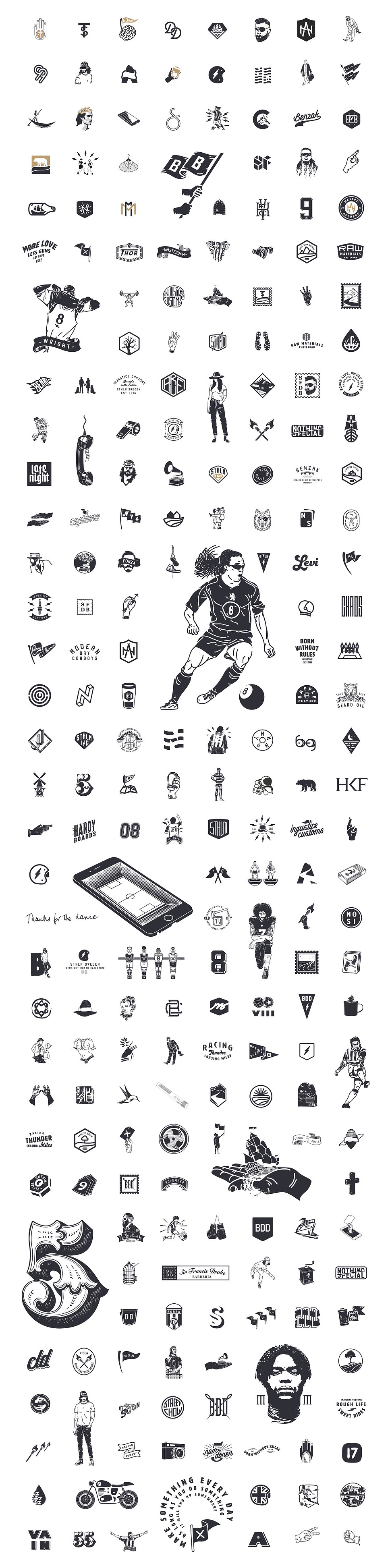VISLA work projects icons