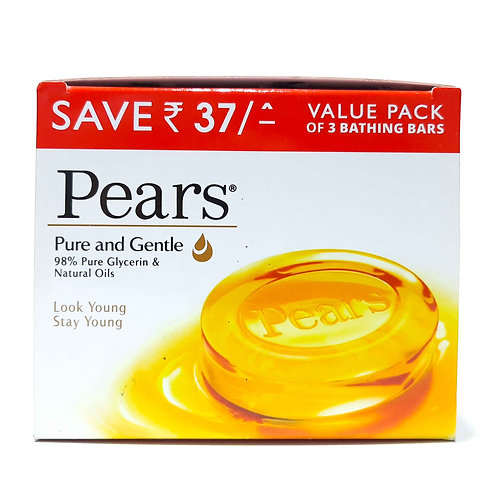PEARS pure & gentle 3X125 g