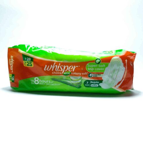 Whisper cottony pads