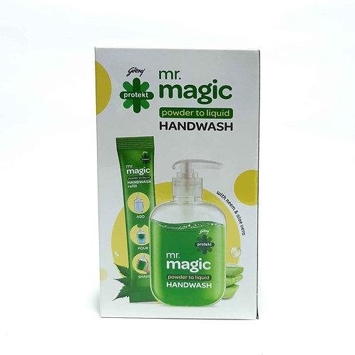 Mr. magic powder to liquid handwash