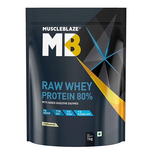 Muscleblaze 80% Raw whey protein