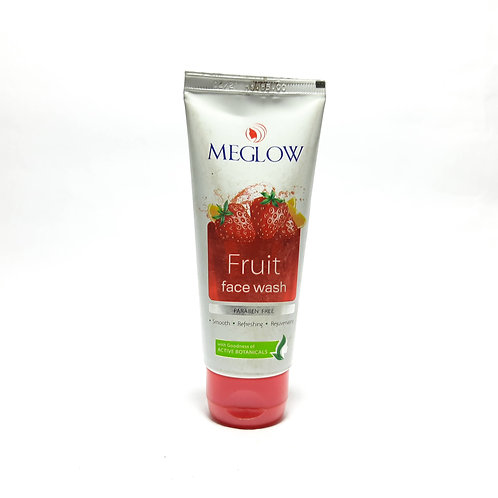 Meglow fruit facewash