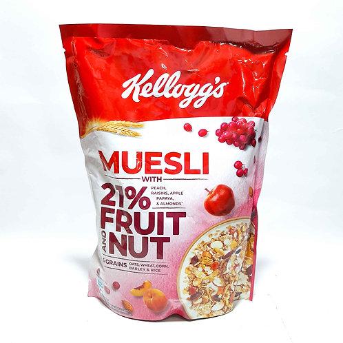 Kellogg's muesli fruit and nut 500g