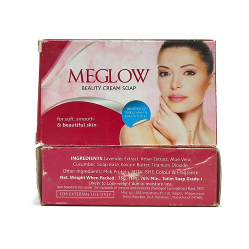 MEGLOW  beauty and cream soap