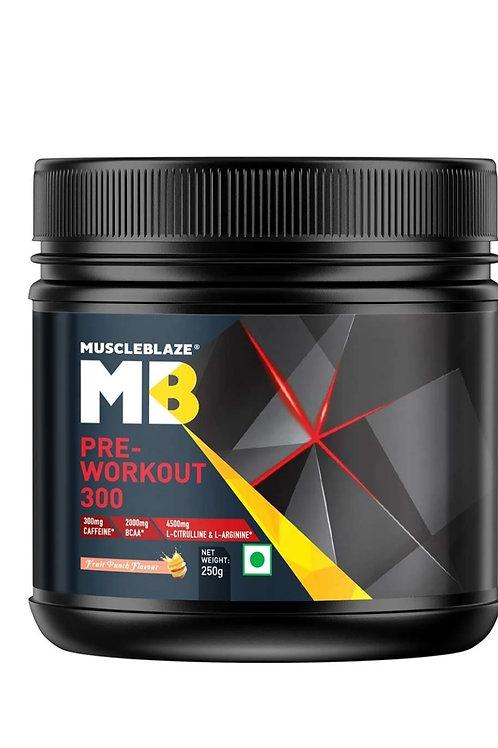 Muscleblaze PRE workout 300
