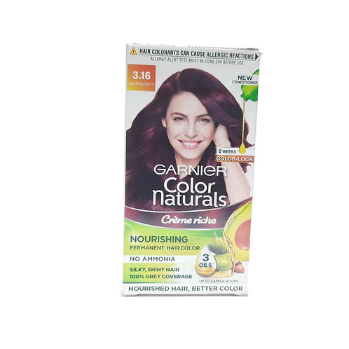 Garnier color naturals permanent hair colour