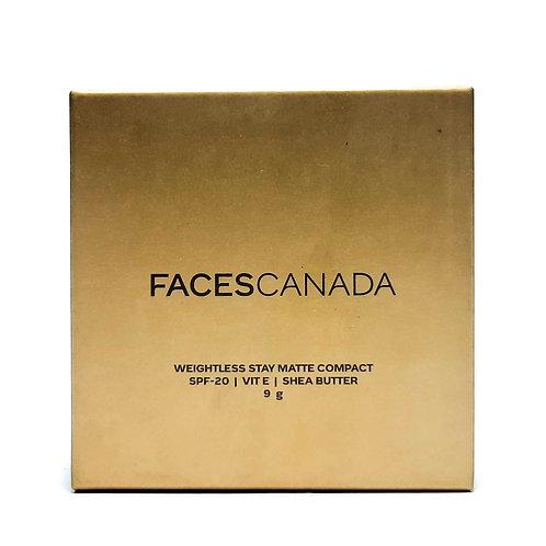 Facescanada weightless matte concept