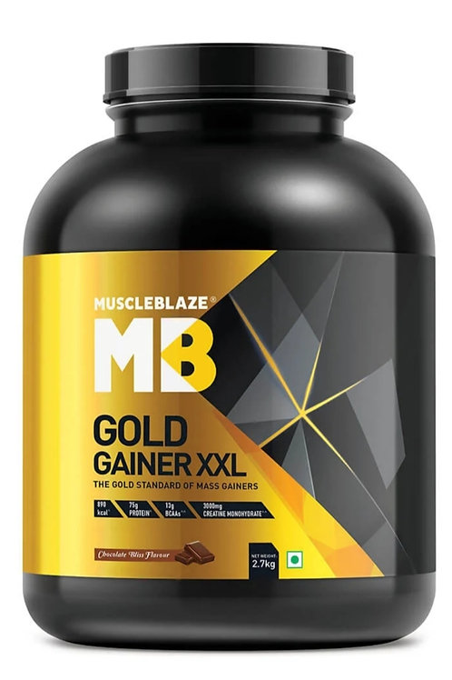Muscleblaze Gold gainer XXL chocolate bliss