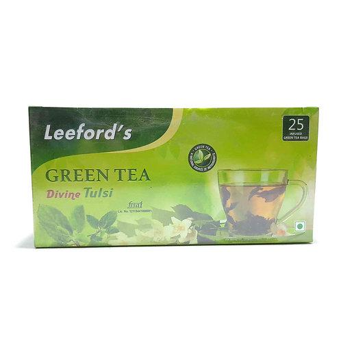 Leeford's green tea divine tulsi