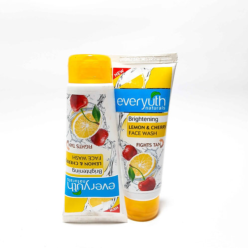 Everyuth Lemon & Cherry Facewash