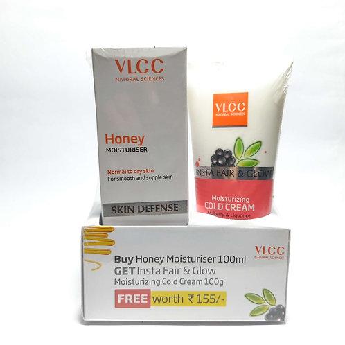 Vlcc moisturiser+cold cream