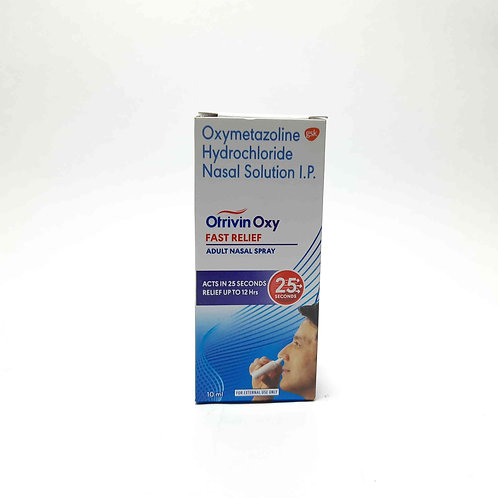 Otrivin Oxy fast relief nasal relief