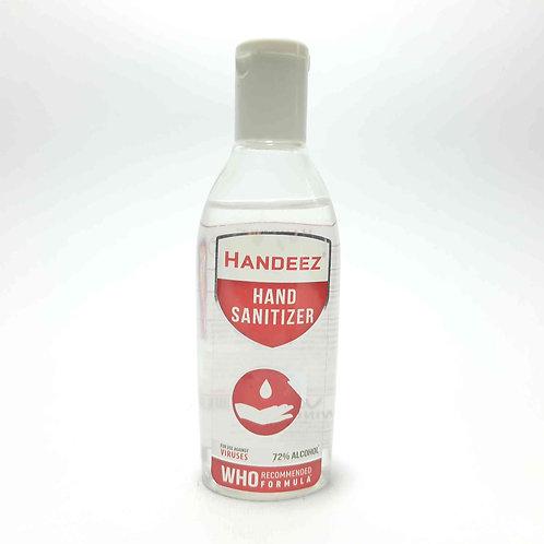Handeez hand sanitizer 72% alcohol