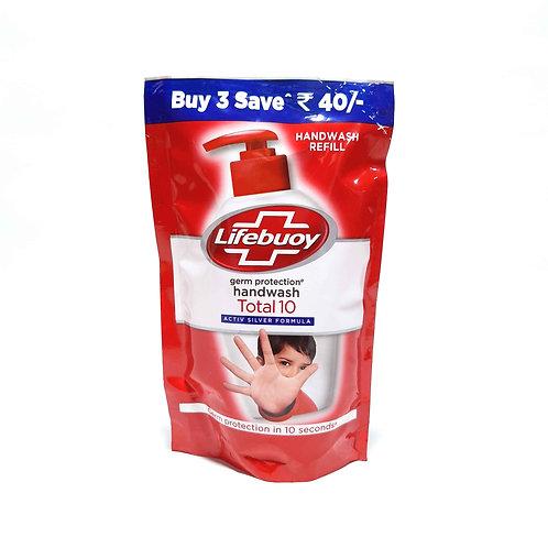 Lifebuoy total 10 handwash