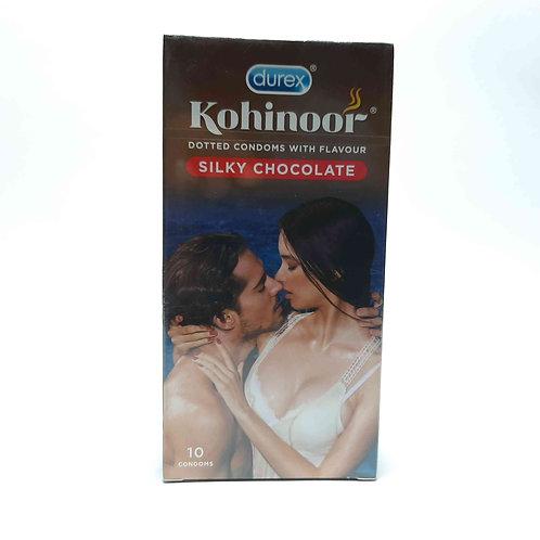 Kohinoor dotted silky chocolate condom