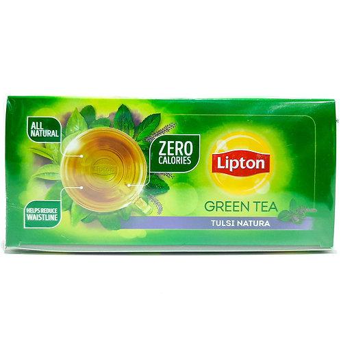 Lipton green tea tulsi natura