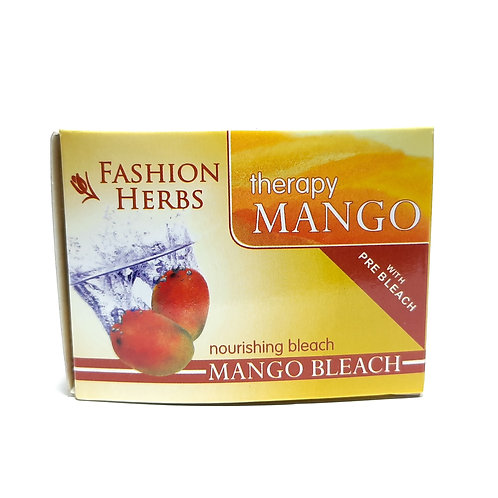Fashion herbs nourishing mango bleach