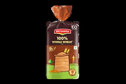 Britannia 100% whole wheat bread