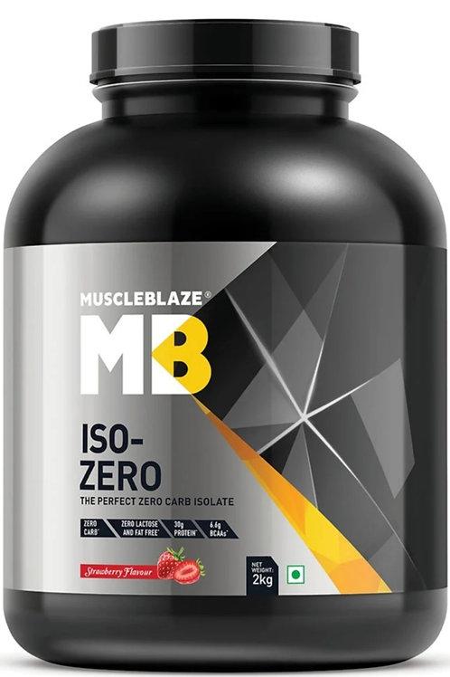 Muscleblaze iso-zero Whey protein Isolate