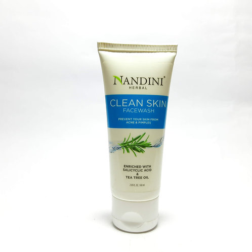 Nandini herbal clean skin facewash
