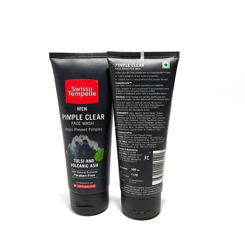 SWISS TEMPELLE Pimple clear Facewash